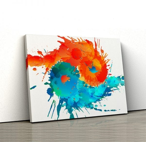1 tablou canvas Ying Yang Apa si Foc