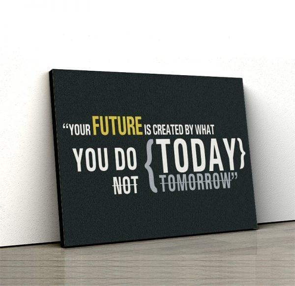1 tablou canvas Your future