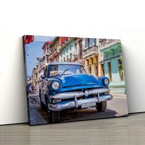 1 tablou canvas masina clasica americana in Havana Cuba