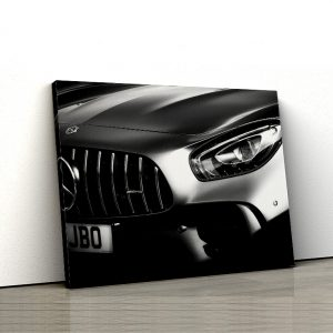 1 tablou canvas mercedes AMG GTR