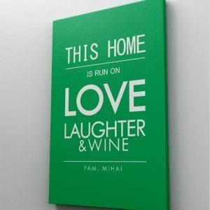 1 tablou canvas this home LOVE