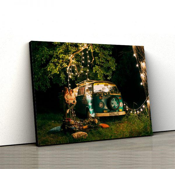 1 tablou canvas vw t1 lumini