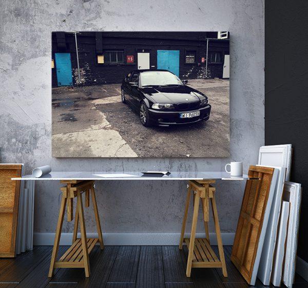2 tablou canvas BMW 3 series E46 330 Ci