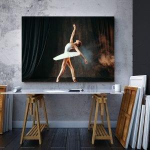 2 tablou canvas Ballerina on stage