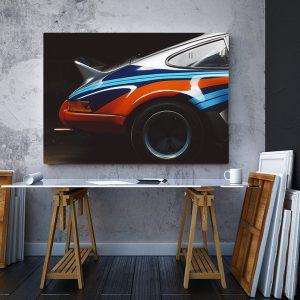 2 tablou canvas Martini racing Porsche 911