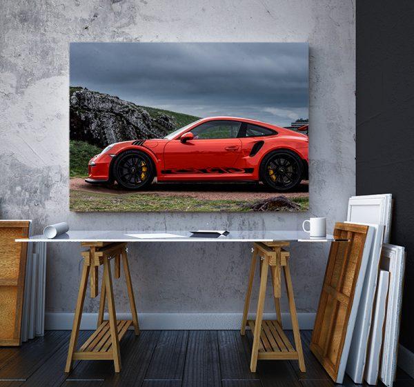 2 tablou canvas PORSCHE GT