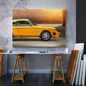 2 tablou canvas Porsche 911
