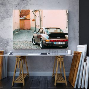 2 tablou canvas Porsche 930