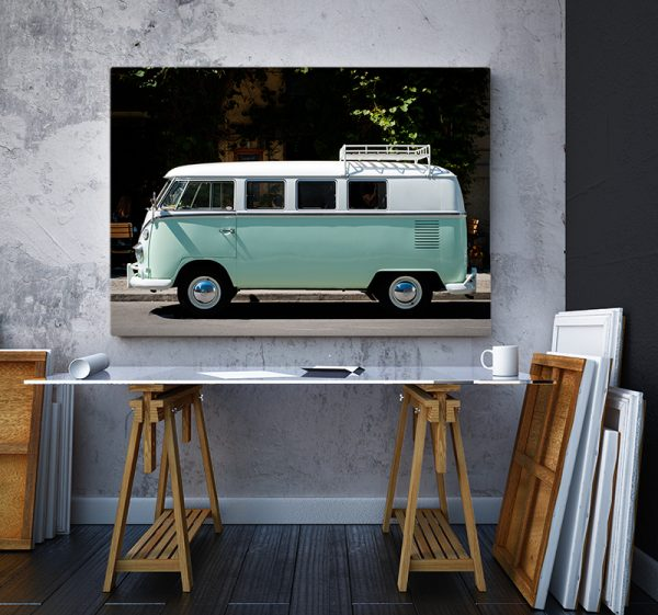 2 tablou canvas VW T1 BULLI