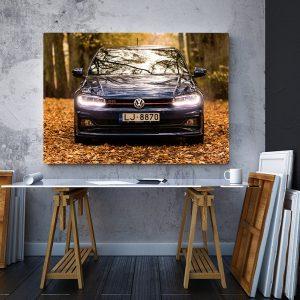 2 tablou canvas Volkswagen Polo GTI