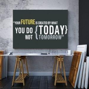 2 tablou canvas Your future