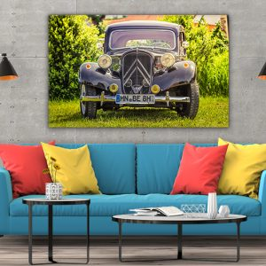 3 tablou canvas 1955 Citroen 11 BL Traction Avant