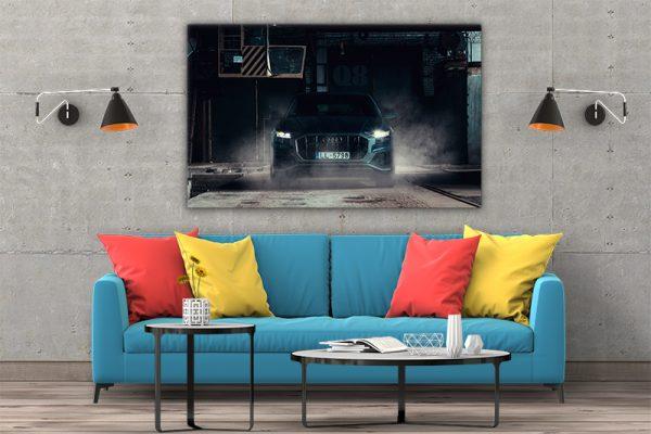 3 tablou canvas AUDI Q8 50tdi