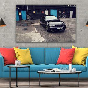 3 tablou canvas BMW 3 series E46 330 Ci