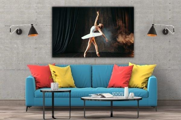 3 tablou canvas Ballerina on stage