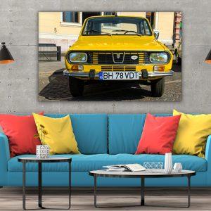 3 tablou canvas Dacia 1300