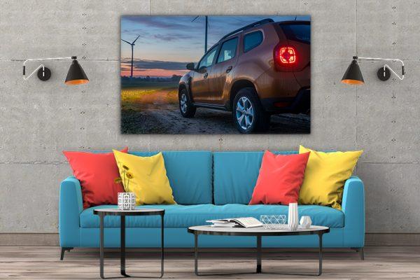 3 tablou canvas Dacia Duster