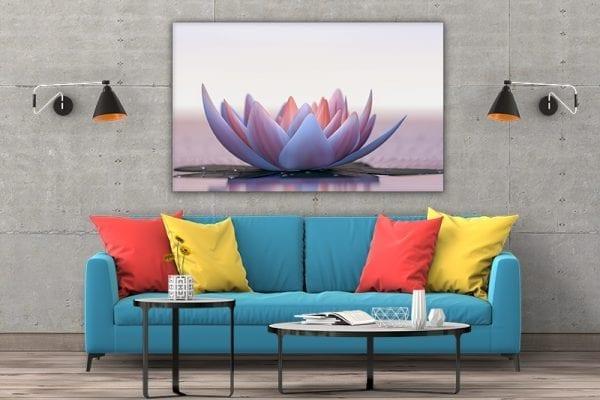 3 tablou canvas Floare de Lotus