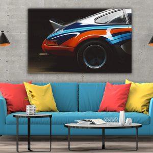 3 tablou canvas Martini racing Porsche 911