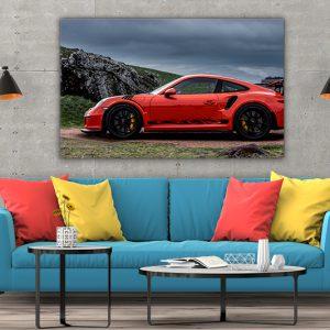 3 tablou canvas PORSCHE GT