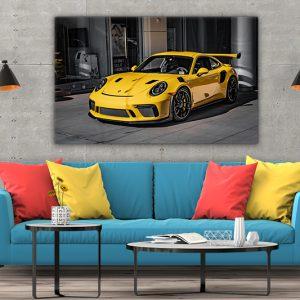 3 tablou canvas Porsche 911 GT2RS
