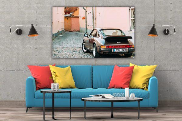 3 tablou canvas Porsche 930
