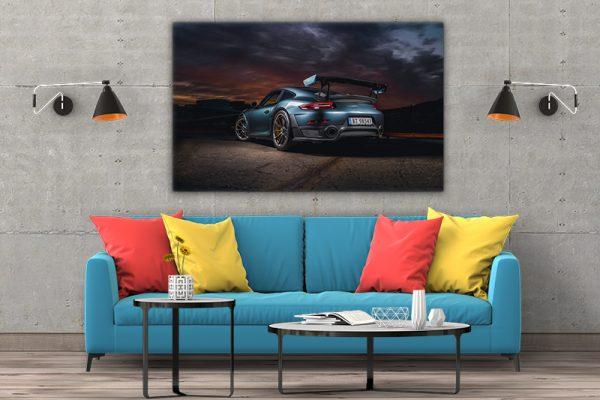 3 tablou canvas Porsche GT2RS