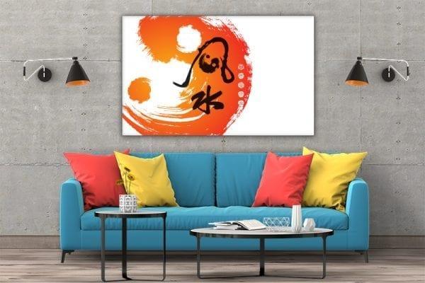 3 tablou canvas Simbol Ying Yang