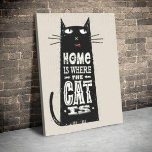 3 tablou canvas Tablou Home Cat
