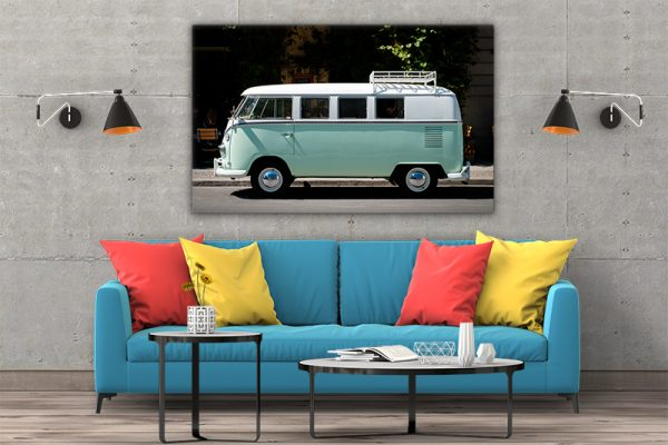 3 tablou canvas VW T1 BULLI