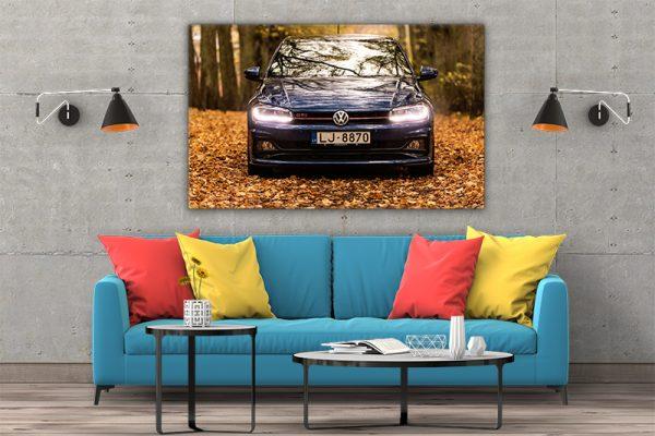 3 tablou canvas Volkswagen Polo GTI