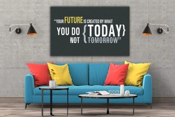 3 tablou canvas Your future