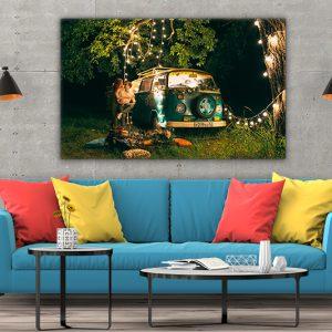 3 tablou canvas vw t1 lumini