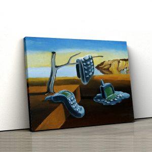Tablou Canvas Reinterpretare Dali 1 tablou canvas
