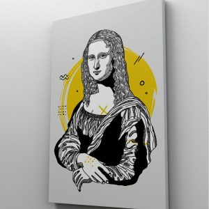 Tablou Canvas Reinterpretare Monalisa 1 tablou canvas