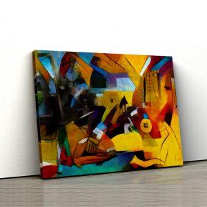 Tablou Canvas Reinterpretare Picasso 1 tablou canvas