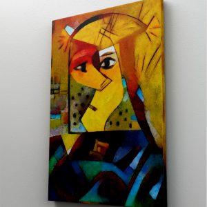 Tablou Canvas Reinterpretare Picasso Kadinsky1 tablou canvas