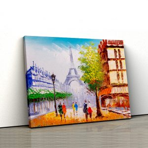 Tablou Canvas Strazile din Paris 1 tablou canvas