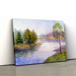 Tablou canvas Malul raului 1 tablou canvas