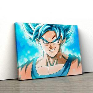 1 tablou canvas Goku Saiyan Blue