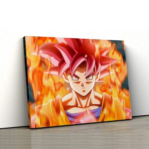 1 tablou canvas Goku Super Saiyan