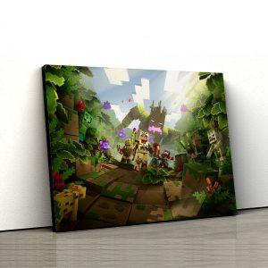 1 tablou canvas Minecraft Dungeons