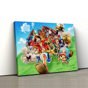 1 tablou canvas One Piece