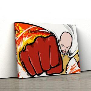 1 tablou canvas Saitama One Punch Man