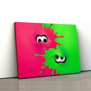 1 tablou canvas Splatoon