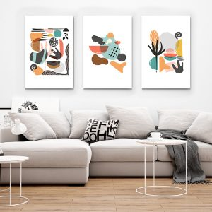 1 Culori pastel Abstract