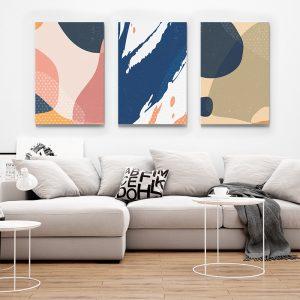 1 Multicanvas Pastel Color