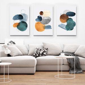 1 Multicanvas Pictura Turquoise