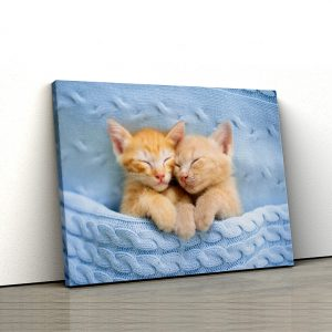 Tablou canvas Animale - Pisicute sub patura