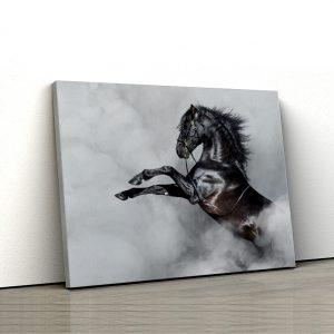 1 tablou canvas Armasar pur sange